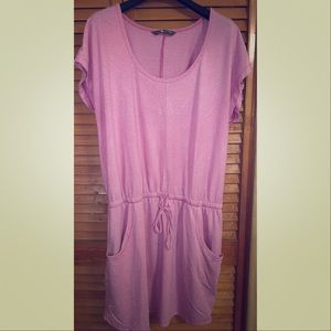 The North Face Woman's Pink Striped Dress L